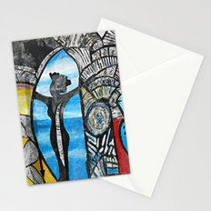 Seaside Beauty Queen Stationery Cards