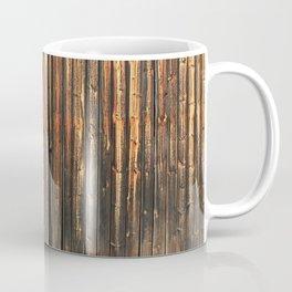 Old barn wall with door Coffee Mug