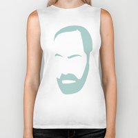 freud Biker Tanks featuring FREUD by eve orea