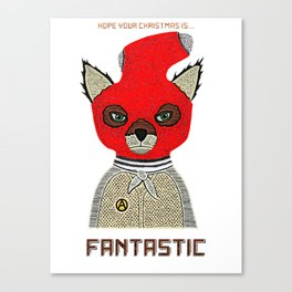 Fantastic Xmas Canvas Print