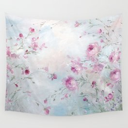 Rose Meadow Wall Tapestry