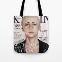 snk Tote Bags featuring SnK Magazine: Connie by emametlo