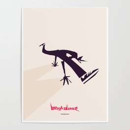 Bboy Power Move collection, The Baby Freeze Poster