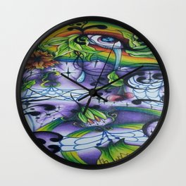 The Eye of Life Wall Clock
