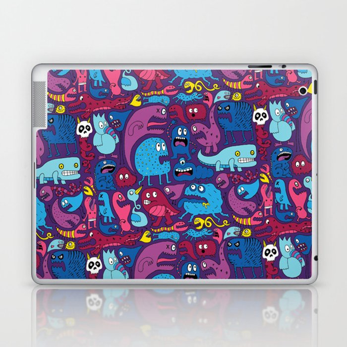 Mo' Monsters Mo' Problems Laptop & iPad Skin