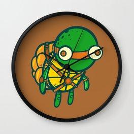 Where's My Weapon - Orange Wall Clock