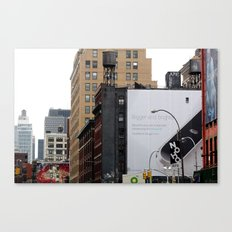 On the streets in NYC Canvas Print