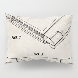 Nintendo N64 Patent - N64 Cartridge Art - Antique Pillow Sham