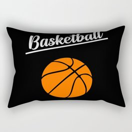 basketball sports design Rectangular Pillow