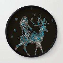 merry christmas 2 Wall Clock