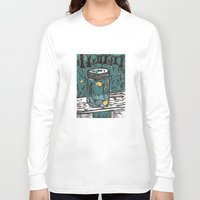 fireflies Long Sleeve T-shirts featuring Catching Fireflies by Heather Powers