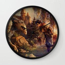 Back at Hogwarts Wall Clock