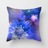 passion Throw Pillows featuring Passion by Bunny Clarke