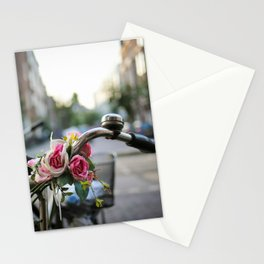 Floral Bike Stationery Cards