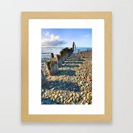 Pier from the Past Framed Art Print