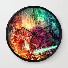 Faithful Knight Wall Clock