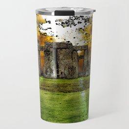 Henge at Sunsleep - Stonehenge Travel Mug