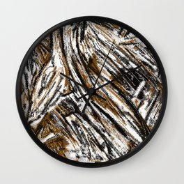 Matt Texture 2 Back To Earth Wall Clock