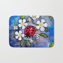 Ladybugs_1 Bath Mat