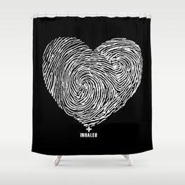 heartprint Shower Curtain