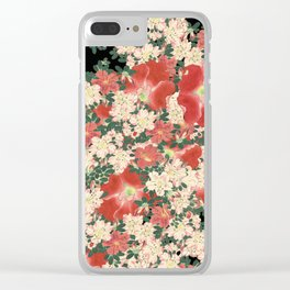 Floral dance Clear iPhone Case