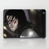 bucky barnes iPad Cases featuring I don't know you - Bucky Barnes by xKxDx