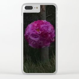 Boho Garden by Night Clear iPhone Case