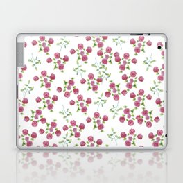 Watercolor roses on white backgroung Laptop & iPad Skin