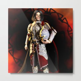 The Conqueror Metal Print