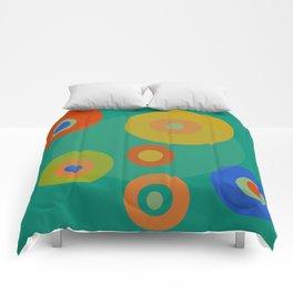 Colorul Geometric Circles Comforters