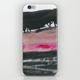 Black Moorland iPhone Skin