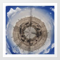 planet Art Prints featuring Planet by Sébastien BOUVIER