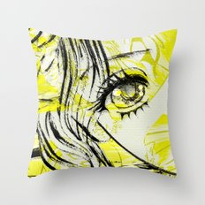 LEDA AND SWANY Throw Pillow