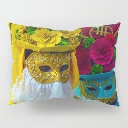 Carnevale of Venice Italy - Masquerade Mask Pillow Sham