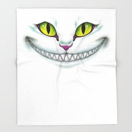 Cheshire  Throw Blanket