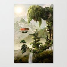 Giant Willow Fantasy Canvas Print