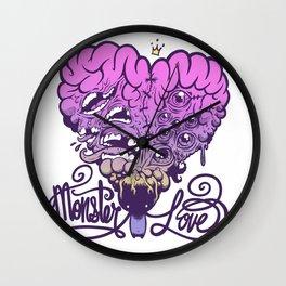 Monster Love Wall Clock