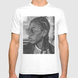 SHADES AND CORNROWS T-shirt