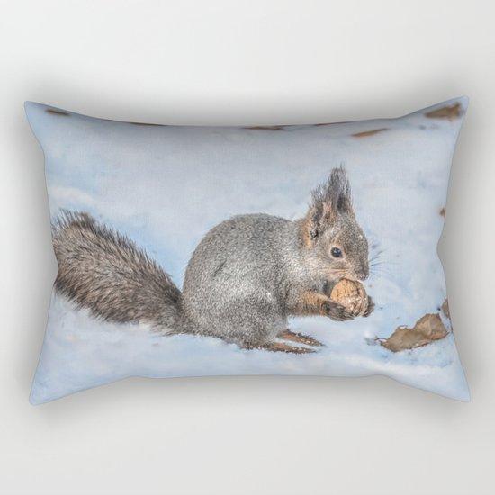 Hard nut to crack Rectangular Pillow