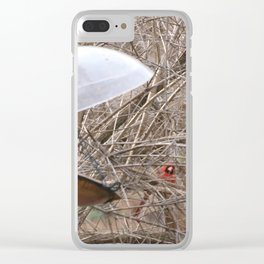 Not too Seedy Clear iPhone Case