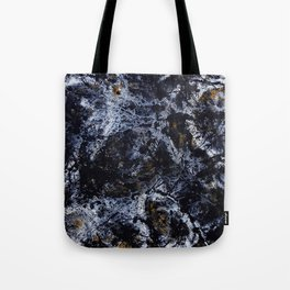 """Number 5"" Abstract Painting by Mark Compton Tote Bag"