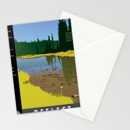 Reflect - Junction Lake Stationery Cards