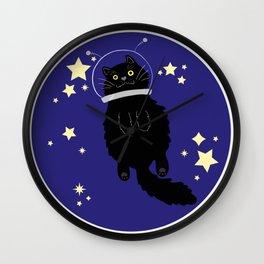 Space cats: Blixa Wall Clock