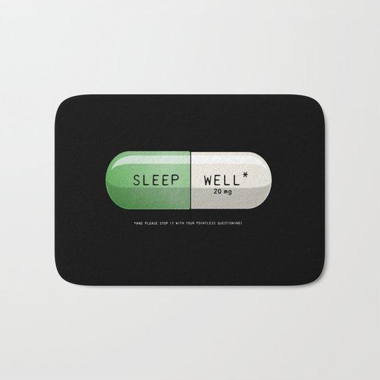 Sleep Well* Bath Mat