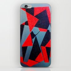 Red and Black iPhone & iPod Skin