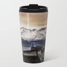 Arran in the snow Travel Mug