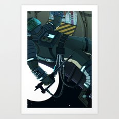 Maintenance  Art Print