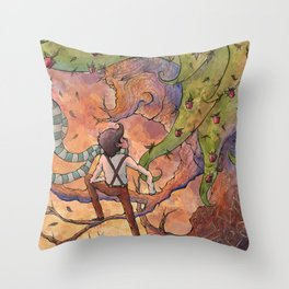 Ode to The Giving Tree Throw Pillow