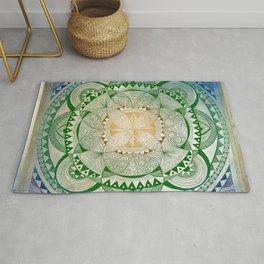 Metta Mandala, Loving Kindness Meditation Rug