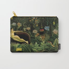 """Henri Rousseau """" The Dream """" Carry-All Pouch"""
